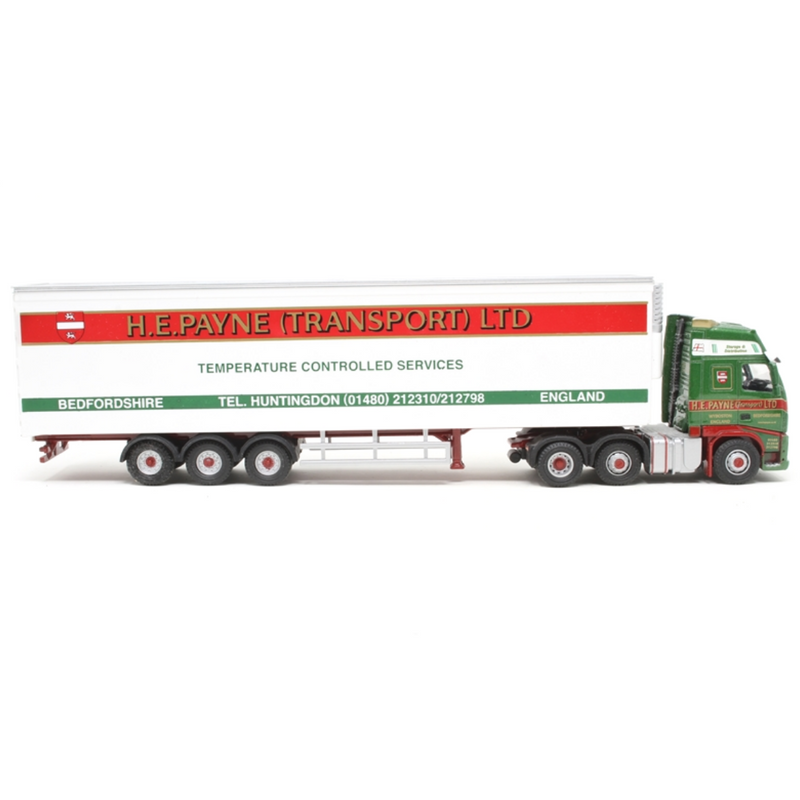 Oxford Diecast 76VOL01FR Volvo FH Fridge H.E. Payne