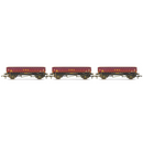 Hornby R6928 MHA 'Coalfish' Ballast Wagons, Three Pack, EWS