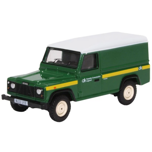 Oxford Diecast 76DEF017 Forestry Commission Land Rover Defender