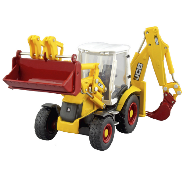 Oxford Diecast 763CX003 JCB 3CX Eco Backhoe Loader 70th Anniversary