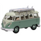 Oxford Diecast 76VWS005 VW T1 Samba Bus/Surfboards Turquoise/Blue White