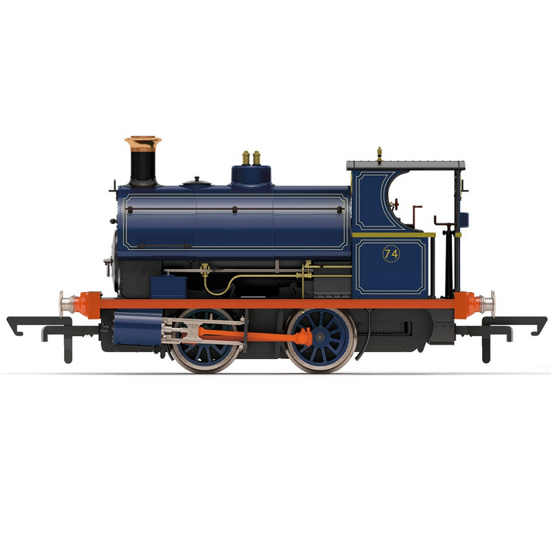 Hornby R3679 Port of London Authority, Peckett W4 Class, 0-4-0ST, No. 74