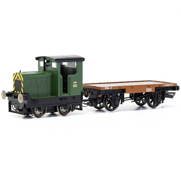 Hornby R3706 War Department, R&H 48DS, 0-4-0, 'Army 802'