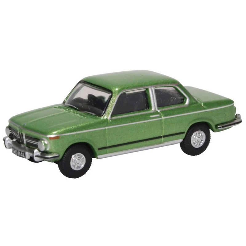 Oxford Diecast 76BM02003 BMW 2002 Taiga Green