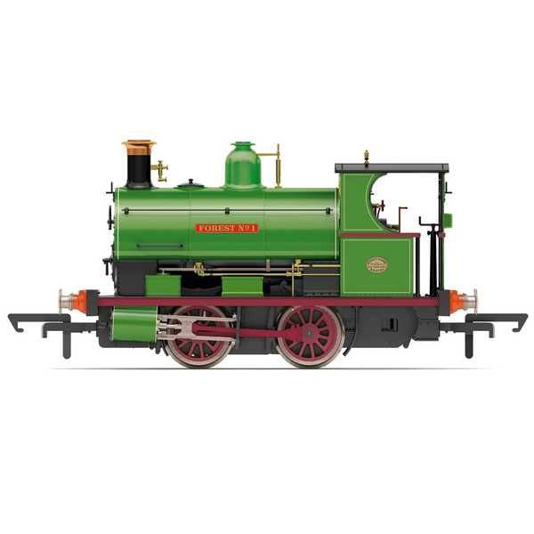 Hornby R3680 Charity Colliery, Peckett W4 Class, 0-4-0ST, 'Forest No. 1'