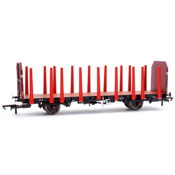 Hornby R6848 EWS, OTA Timber Wagon (Tapered Stanchions), 200763