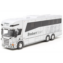 Atlas Editions Scania P380 Oakley Horsebox - Stobart Sport