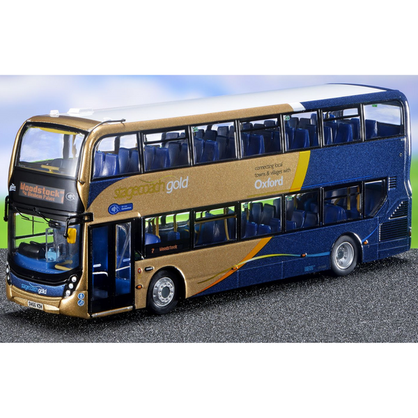 Northcord UK6519 ADL Enviro 400 Stagecoach Oxford Gold