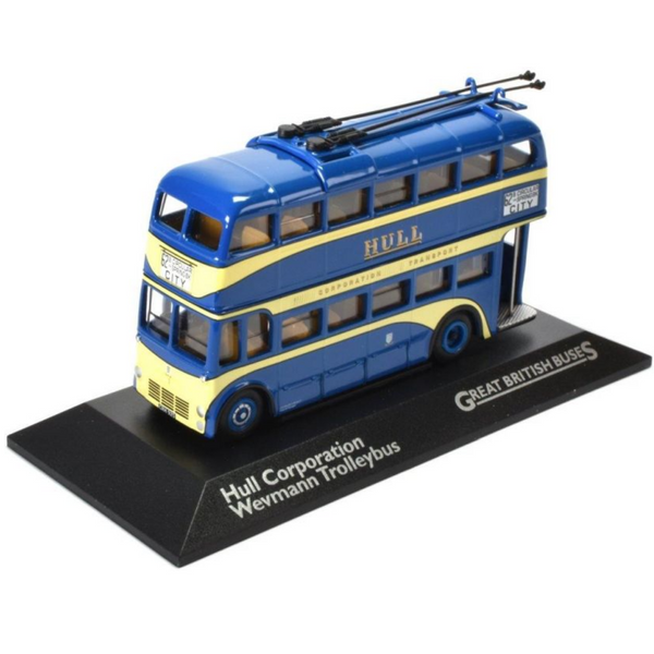 Atlas Editions Hull Corporation Weymann Trolleybus