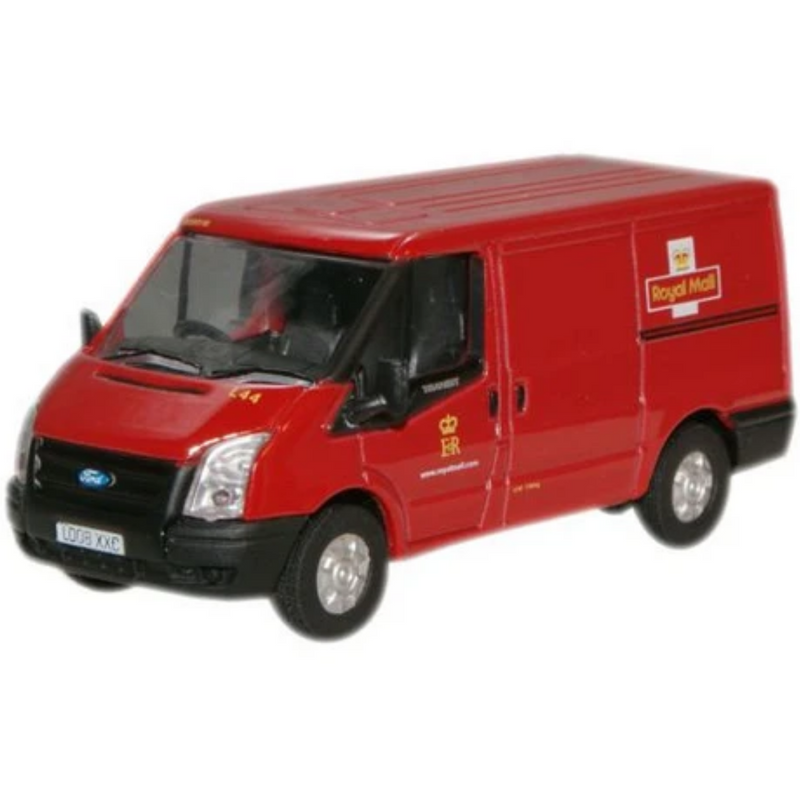 Oxford Diecast 76FT002 Royal Mail New Ford Transit Van (L.Roof)