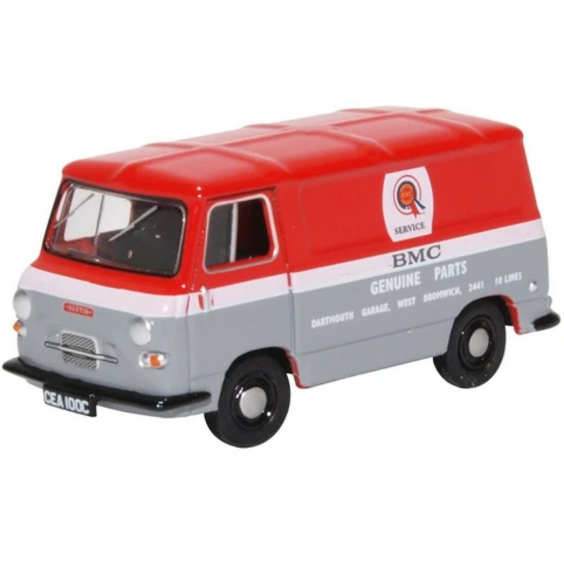 Oxford Diecast 76J4004 Austin J4 Van BMC Parts