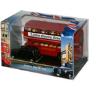Oxford Diecast 76LD004 London Bus & Taxi Gift Set