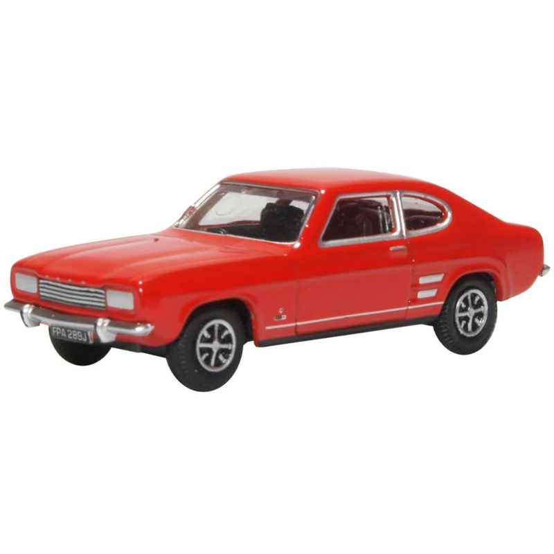 Oxford Diecast 76CP002 Ford Capri MK1 Sunset Red