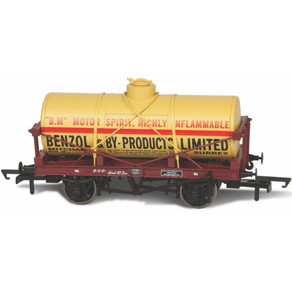 Oxford Rail OR76TK2004 12 Ton Tank Wagon Benzol & By Products No. 1000