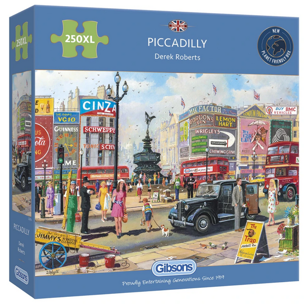 Gibsons Piccadilly Jigsaw Puzzle 250 XL Pieces
