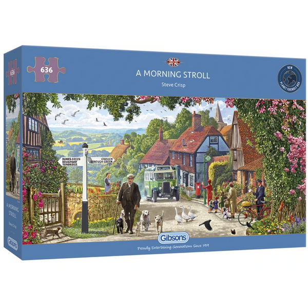 Gibsons A Morning Stroll Jigsaw Puzzle (636 Pieces)