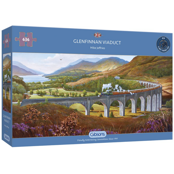 Gibsons Glenfinnan Viaduct Jigsaw Puzzle (636 Pieces)
