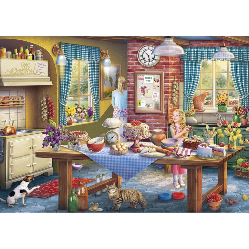 Gibsons Sneaking a Slice Jigsaw Puzzle (100 XXL Pieces)