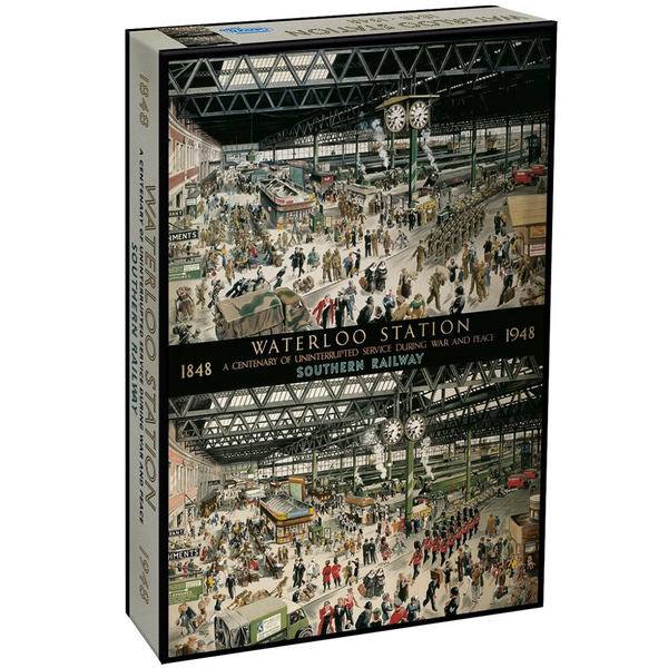 Gibsons Waterloo Station Jigsaw Puzzle (1000 Pieces)