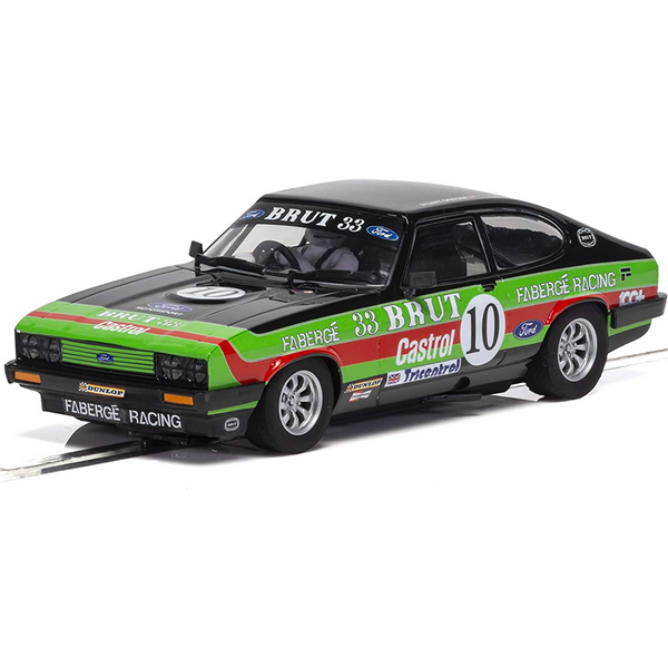 Scalextric C4101 Ford Capri MK3 - Stuart Graham Touring Car