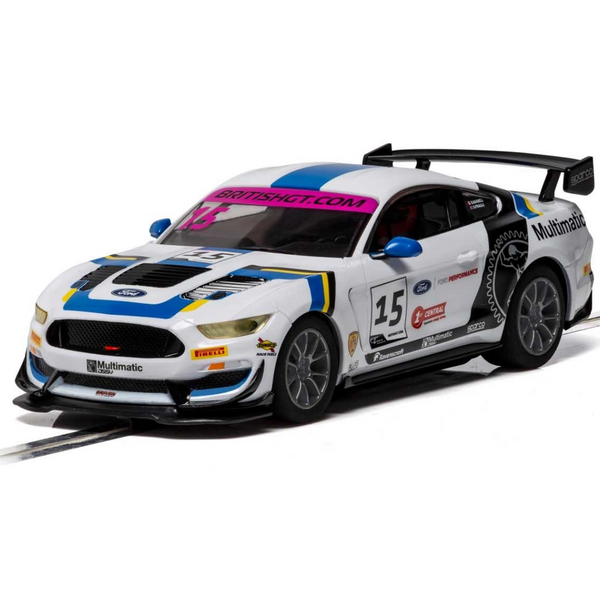 Scalextric C4173 Ford Mustang GT4 - British GT 2019 - Multimatic Motorsports