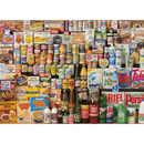 Gibsons 1980s Shopping Basket Jigsaw Puzzle (1000 Pieces)