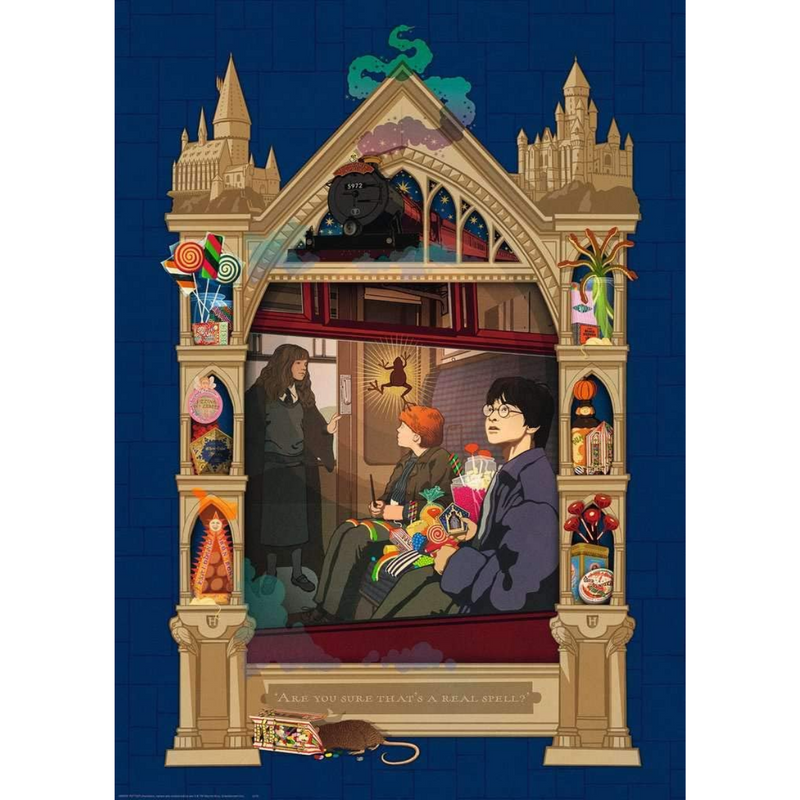 Ravensburger Harry Potter Hogwarts Jigsaw Puzzle (1000 Pieces)
