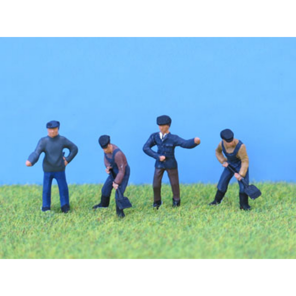 PD Marsh Locomotive Crew (OO Gauge)
