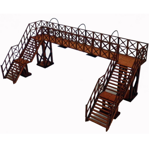 Ancorton Models Platform Footbridge Kit - Double Track (OO Gauge)