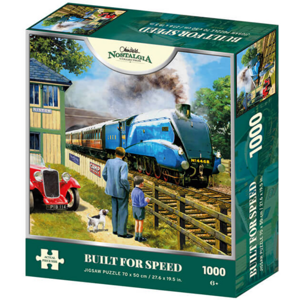 Kevin Walsh Nostalgia Built For Speed Jigsaw Puzzle (1000 Pieces)