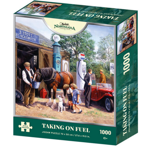 Kevin Walsh Nostalgia Taking On Fuel Jigsaw Puzzle (1000 Pieces)