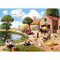 Kevin Walsh Nostalgia Harvest Time Jigsaw Puzzle (1000 Pieces)