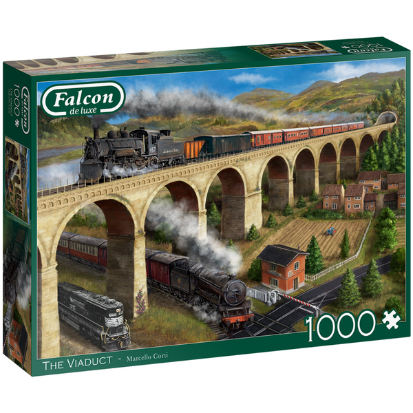 Falcon The Viaduct Jigsaw Puzzle (1000 Pieces)