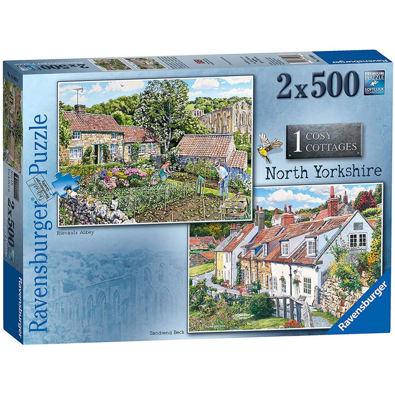 Ravensburger Cosy Cottages - North Yorkshire Jigsaw Puzzle (2x 500 Pieces)