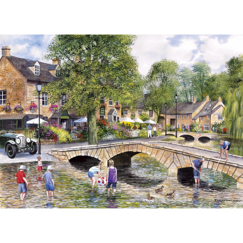 Gibsons Bourton on The Water Jigsaw Puzzle (1000 Pieces)