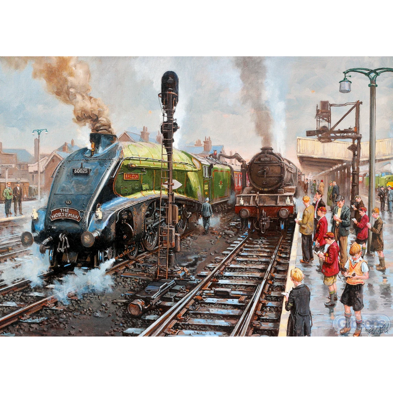 Gibsons Spotters at Doncaster Jigsaw Puzzle (1000 Pieces)