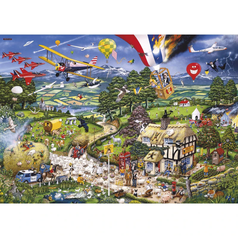 Gibsons I Love the Country Jigsaw Puzzle (1000 Pieces)