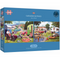 Gibsons Caravan Outings Jigsaw Puzzle (2x 500 Pieces)