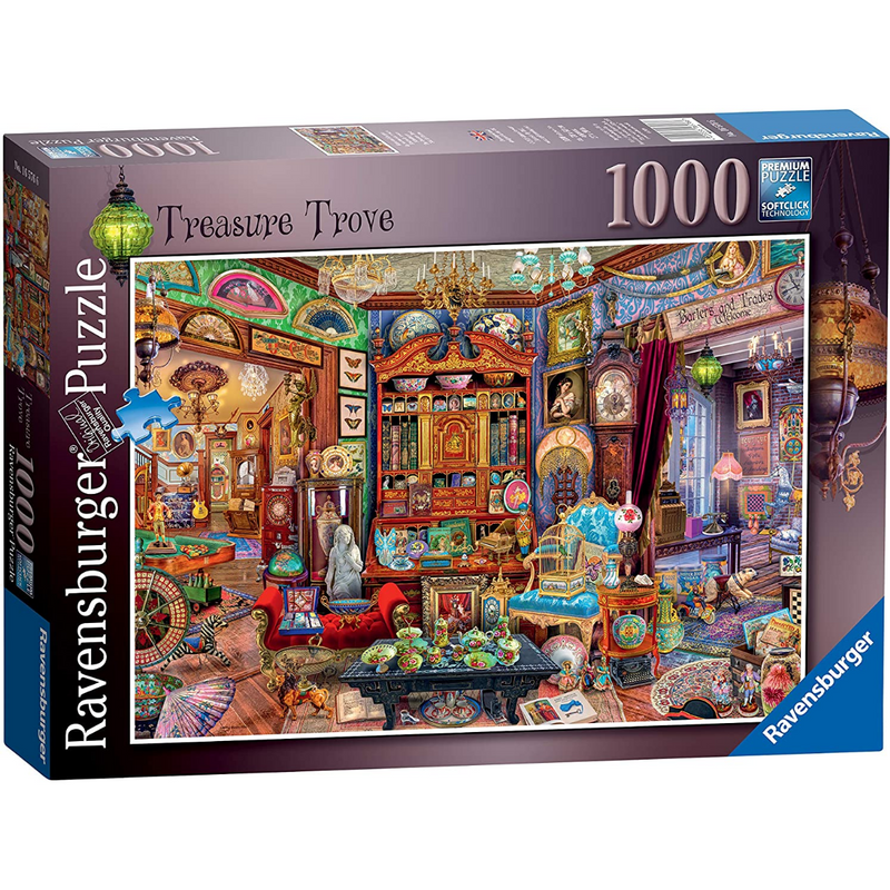 Ravensburger Treasure Trove Jigsaw Puzzle (1000 Pieces)