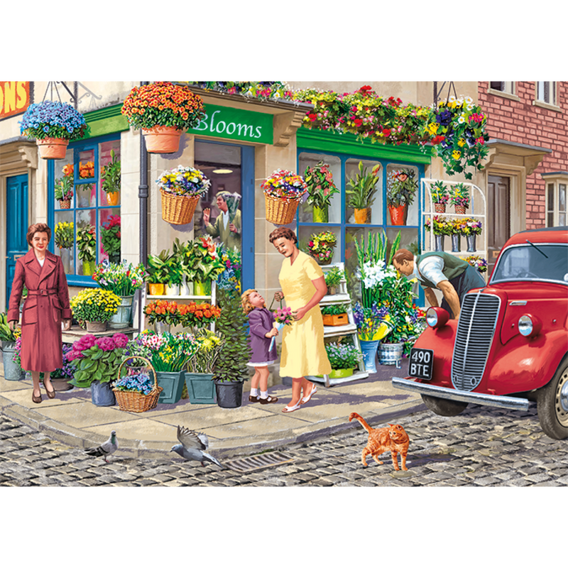 Falcon The Florist Jigsaw Puzzle (1000 Pieces)