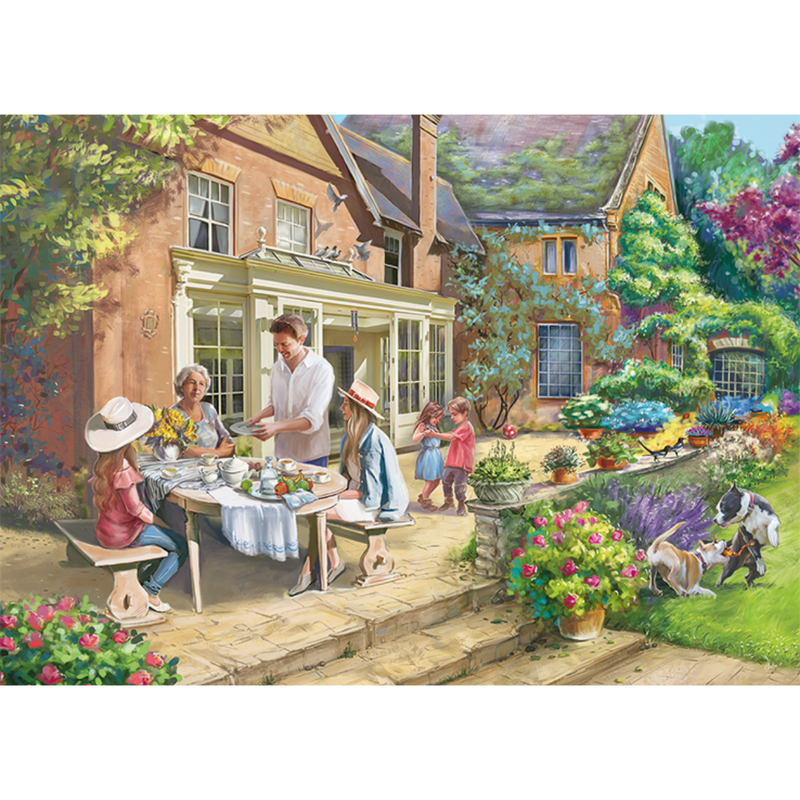 Falcon Country Retreat Jigsaw Puzzle (1000 Pieces)