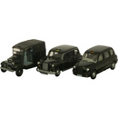 Oxford Diecast 76SET09 Triple Taxi Set