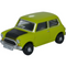 Oxford Diecast 76MN005S Classic Mini Lime Green