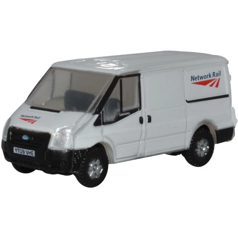 Oxford Diecast NFT023 Ford Transit Mk5 SWB Low Roof Network Rail