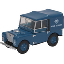 Oxford Diecast 76LAN180006 Land Rover Series I 80 Hard Top RAC