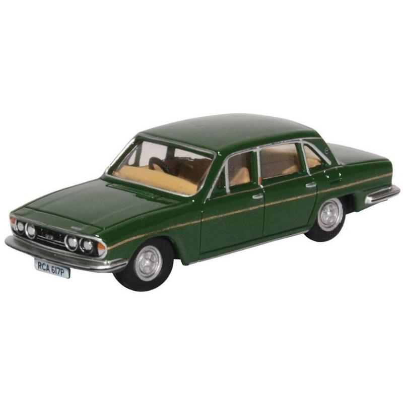 Oxford Diecast Triumph 2500 British Racing Green