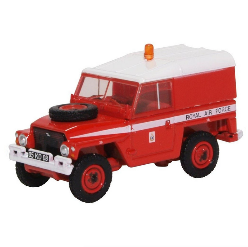 Oxford Diecast Land Rover 1/2 Ton Lightweight RAF - Red Arrows