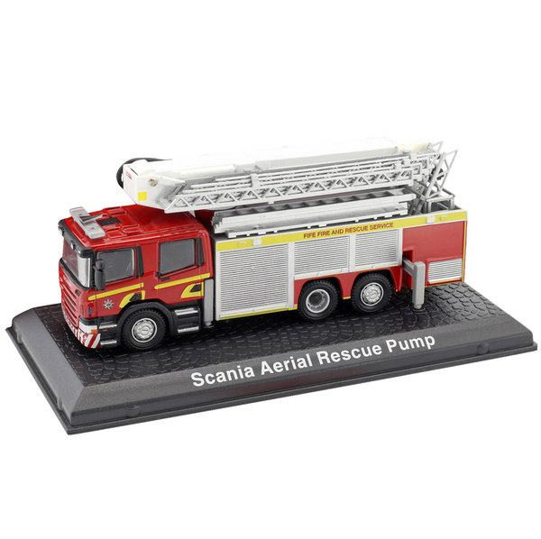 Atlas Editions Scania Aerial Rescue Pump
