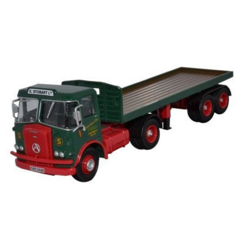 Atlas Editions Atkinson Borderer with Flatbed Trailer - Eddie Stobart