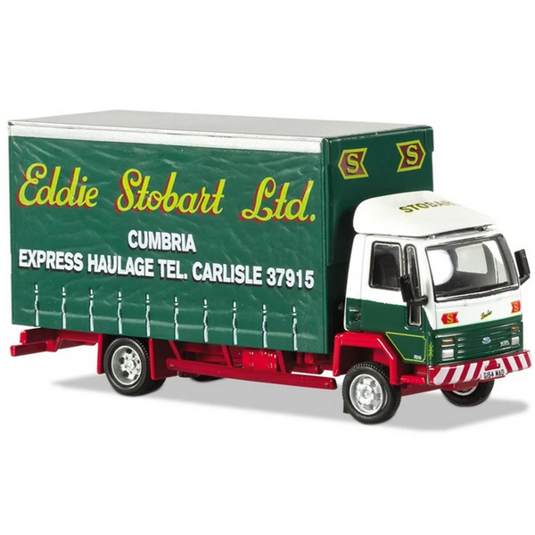 Atlas Editions Ford Cargo Curtainside Lorry - Eddie Stobart